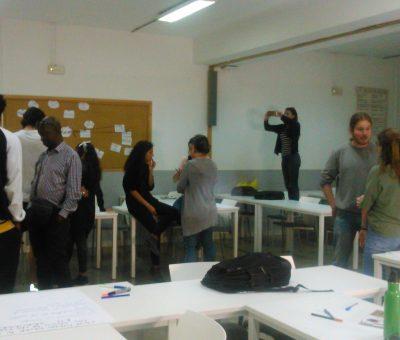 """Facilitación en los talleres """"Jóvenes, Mujeres y DDHH"""" y """"Jóvenes, migraciones y DDHH"""""""