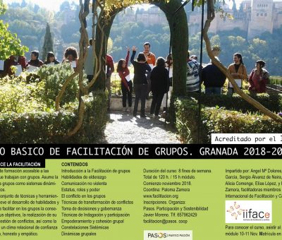 Formación Nivel Básico Facilitación Granada 2018-2019
