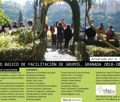 Formación Nivel Básico Facilitación Granada 2018-2019
